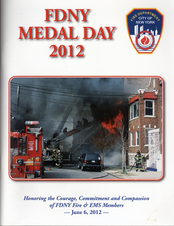FDNY Medal Day 2012